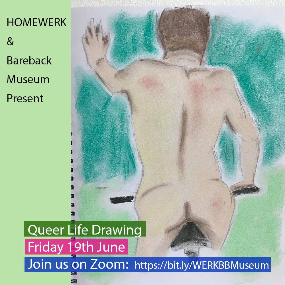 Queer life drawing poster